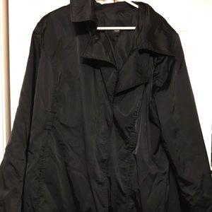 Mossimo satin trench coat
